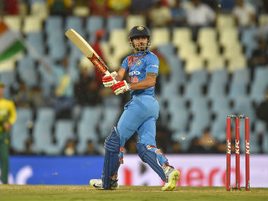 India's Manish Pandey bats during the second T20I of the series against South Africa in Centurion. AFP