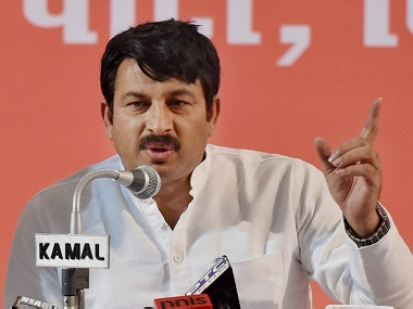 Facing contempt of court charges Delhi BJP chief Manoj Tiwari says he tampered with seal as symbolic protest only