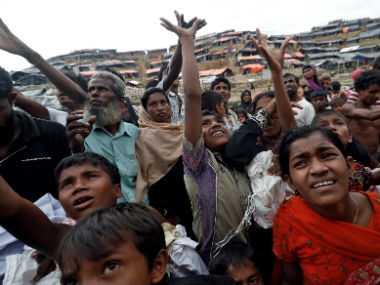 UN chief Antonio Guterres says Rohingya refugees in floodprone areas in Bangladesh need to be relocated ahead of rains