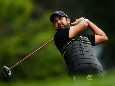 Panasonic Open Golf Championship Shiv Kapur shares lead with Adam Blyth and Terry Pilkadaris as four Indians enter top10