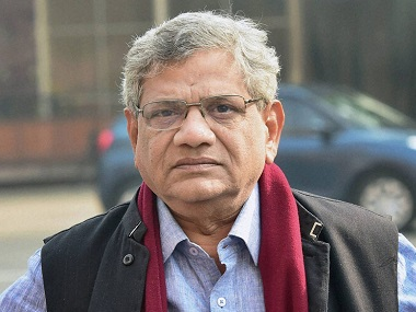 Sitaram Yechury elected as CPM generalsecretary at 22nd party congress after weeks of uncertainty