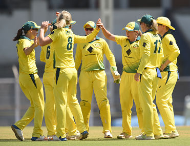 Australia will play England in finals on 31 March. AFP