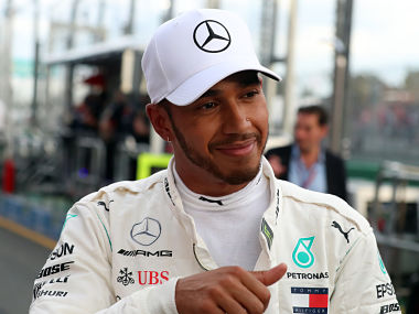 Australian Grand Prix Mercedes Lewis Hamilton takes pole position for seasonopening race