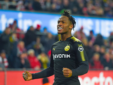 Bundesliga Michy Batshuayi hopes Borussia Dortmund stint can help seal his spot in Belgiums World Cup squad