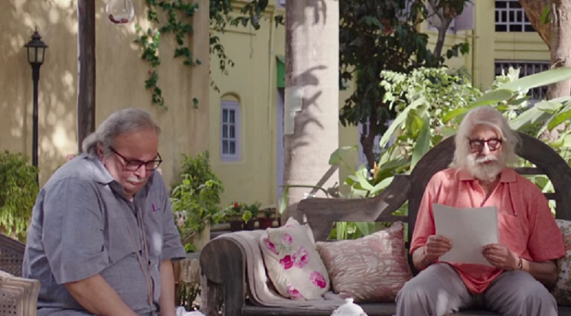 102 Not Out movie review This Amitabh Bachchan Rishi Kapoorstarrer is loud repetitive but endearing