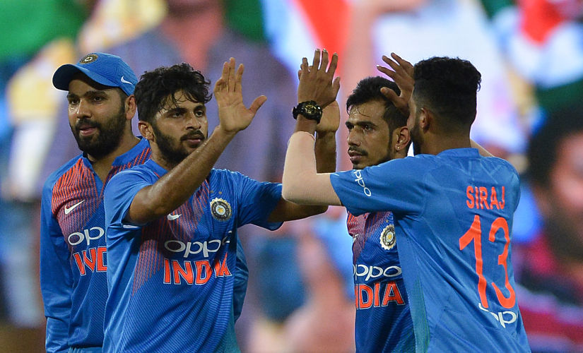 Youngsters in the Indian team chipped in with valuable performances throughout the series. AFP