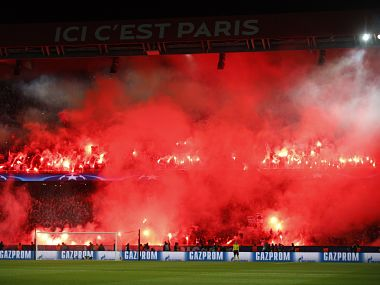 Paris SaintGermain hit with stand closure Marseille fans banned from next two European away matches by UEFA