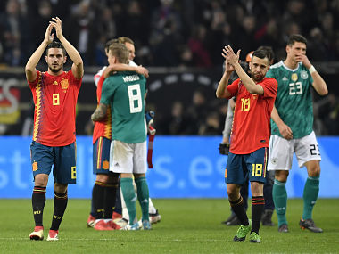 International friendlies Thomas Muellers stunning equaliser sees Germany share spoils with rivals Spain