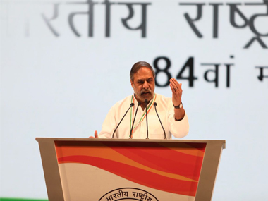 Noconfidence motion not only about numbers says Congress Anand Sharma party will use it to expose govts failures