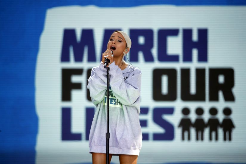 Paul McCartney George Clooney Ariana Grande among celebrities at March For Our Lives in Washington rally