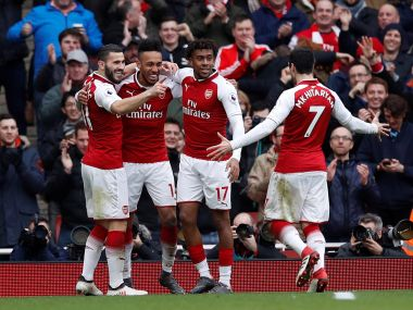 Premier League Arsenal stroll past Watford to ease pressure on beleaguered boss Arsene Wenger