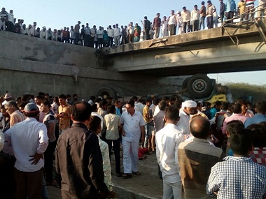 At least 26 dead dozens injured in Gujarats Bhavnagar as truck carrying wedding party members falls into drain