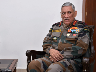 Army Chief General Bipin Rawat says IndiaChina military exercise to resume bonhomie between nations is back