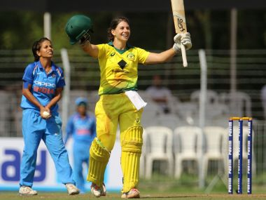 Nicole Bolton was adjudged Player of the Match for her maiden ton. Twitter/ @SouthernStars