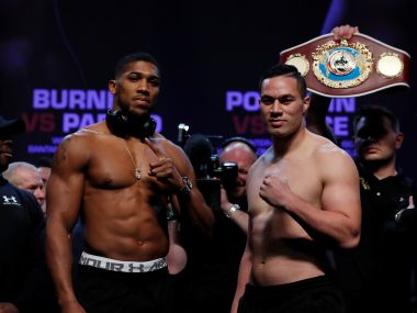 Anthony Joshua eager to simplify madness in world heavyweight title bout against Joseph Parker