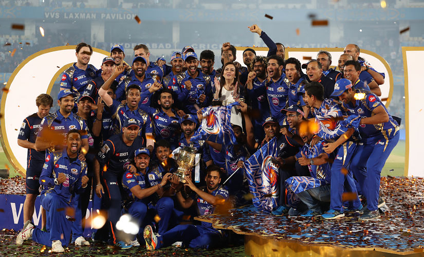 Mumbai Indians won the last edition of IPL. They lead with three IPL titles in the competition. Sportzpics