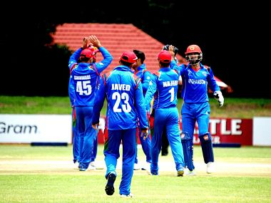 File image of the Afghanistan cricket team. Image courtesy: Twitter @cricketworldcup