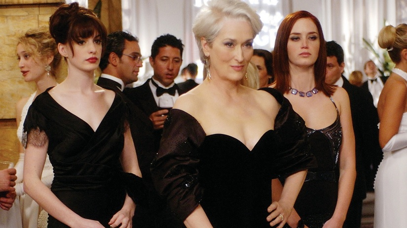 Emily Blunt says shes open to doing Devil Wears Prada sequel but only with Anne Hathaway Meryl Streep