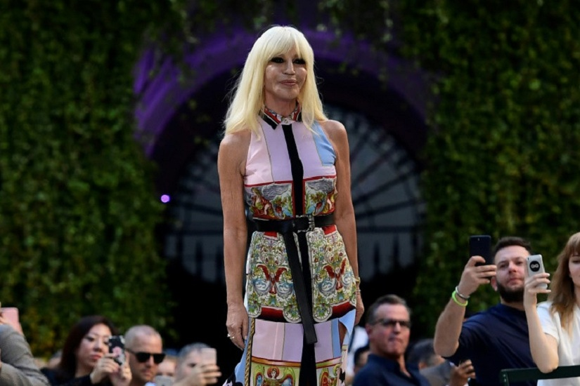 Versace wont use fur anymore Dont want to kill animals to make fashion says designer Donatella