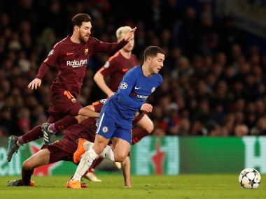 Champions League Spotlight on Antonio Contes tactics as Chelsea travel to Barcelona for most crucial match of season