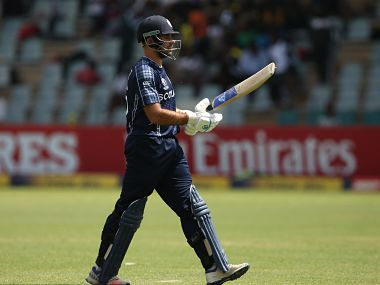 Scotland's Kyle Coetzer has been critical of umpiring in Qualifier against West Indies. Image Courtesy: ICC