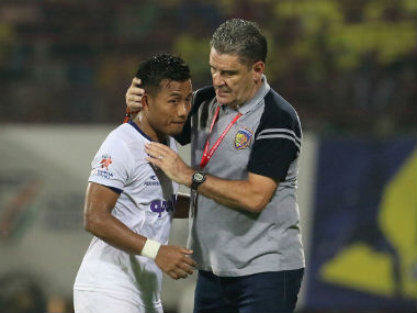 ISL 201718 Jeje Lalpekhlua will end goal drought soon says coach John Gregory ahead of FC Goa clash