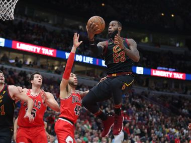 NBA LeBron James 70th career tripledouble propels Cavaliers to win injuryriddled Warriors defeat Suns