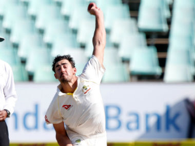 File image of Australia pacer Mitchell Starc. Reuters