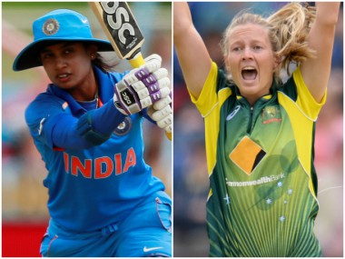 Mithali Raj and Meg Lanning, captain of India and Australia respectively. Reuters