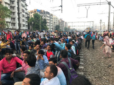 Day after rail roko protest in Mumbai Shiv Sena slams Narendra Modis Skill India programme