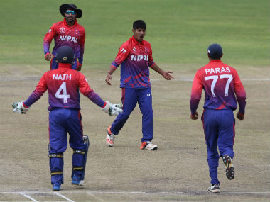 """""""The development of cricket in Nepal is stagnant right now."""" Image Courtesy: Twitter @cricketworldcup"""