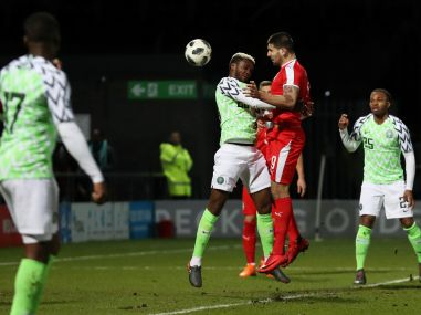 International friendlies Nigeria served reality check as Serbias 20 defeat punctures FIFA World Cup 2018 hype