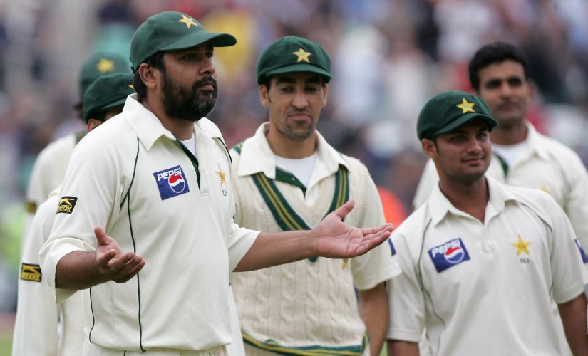 Inzamam-ul-Haq-led Pakistan forfeited the Oval Test in 2006 after they were accused of ball tampering. Reuters