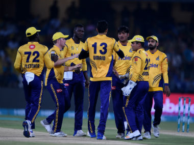 Defending champions Peshawar Zalmi now face Karachi Kings in the second eliminator on Wednesday. AFP