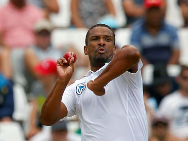 File image of South Africa's Vernon Philander. REUTERS