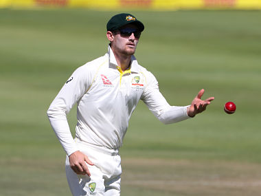 Cameron Bancroft throws the ball on Day 3 of 3rd Test. Reuters