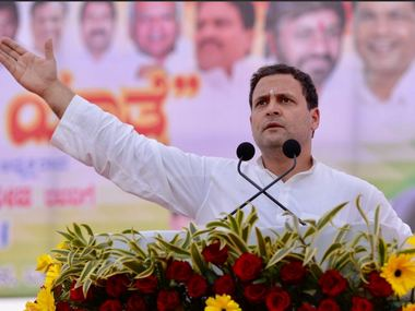 Rahul Gandhi accuses BJP of attacking Constitution says Congress will protect Ambedkar jis work