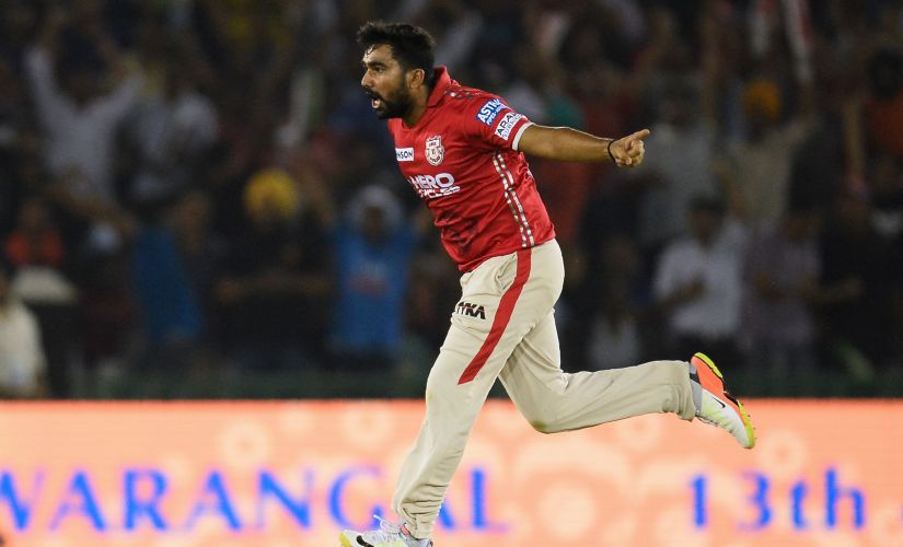 Rahul Tewatia will be the one to watch out for this season in the IPL. AFP