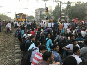 Mumbai rail roko If Modi govt still thinks unemployment is a madeup story students protest will serve as eyeopener