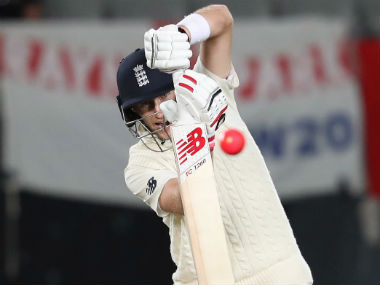 Joe Root in action against New Zealand on Day 4. AFP