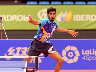 ITTF Asian Championships 2019 Sharath Kamal G Sathiyan guide India mens team to quarterfinals of champions division