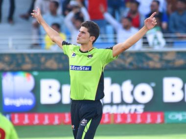 Shaheen Shah Afridi impressed with his performances during the PSL. Image Courtesy: Twitter/ @thePSLt20