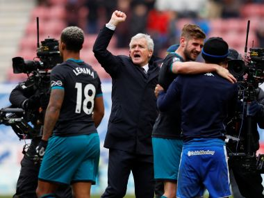 Premier League Southampton manager Mark Hughes thrilled to extend stay at club by three years