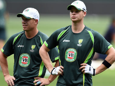 Steve Smith and David Warner have been banned for 12 months by CA for their involvement in the ball-tampering scandal. AFP