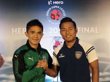 AFC Asian Cup 2019 Indian captain Sunil Chhetri always knows where I am on the pitch says forward Jeje Lalpekhlua
