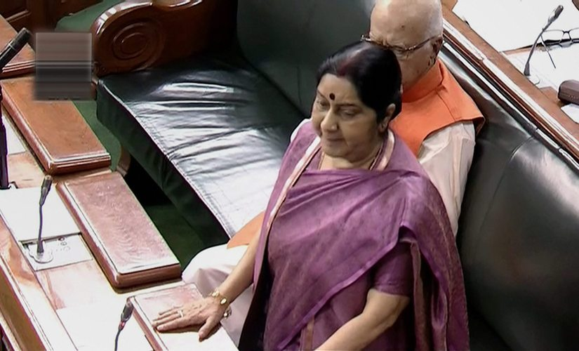Sushma Swaraj confirms death of 39 Indians in Mosul Congress BJP play blame game as victims families seek answers