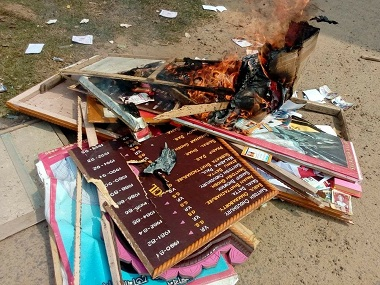 CPMs defeat in Tripura Postpoll violence challenges Left hegemony methodically targets its institutions