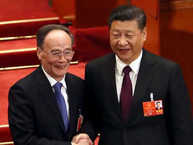 From SARS to corruption crackdown Chinas new VP Wang Qishan has tackled thorniest of crises