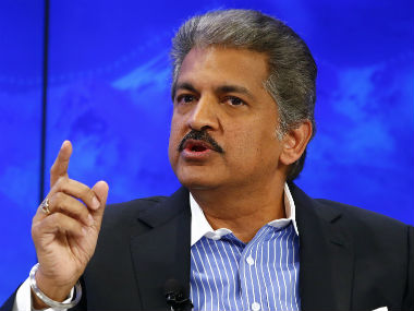 Industrialist Anand Mahindra says not right to find fault with govt for lack of electric vehicle policy
