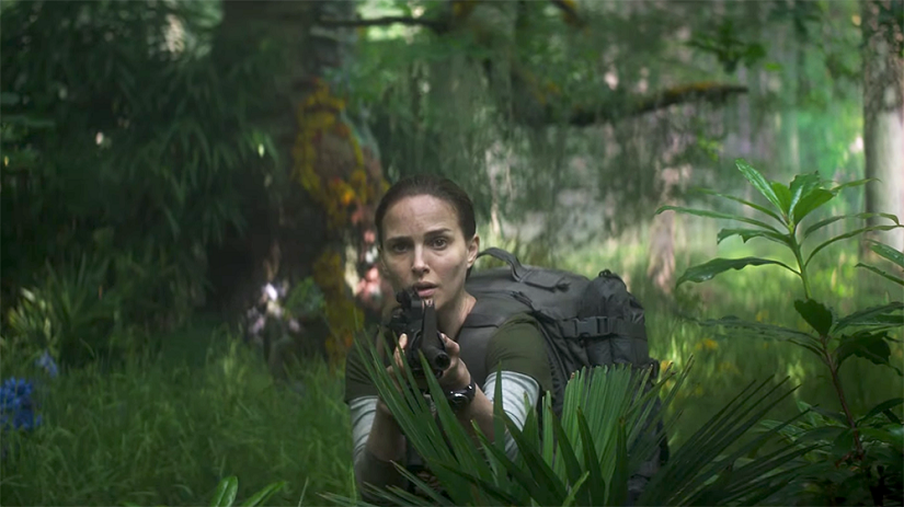 Annihilation movie review Natalie Portmanstarrer is a great addition to Netflix but is more suited to the big screen